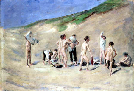 Max Liebermann - After the bath