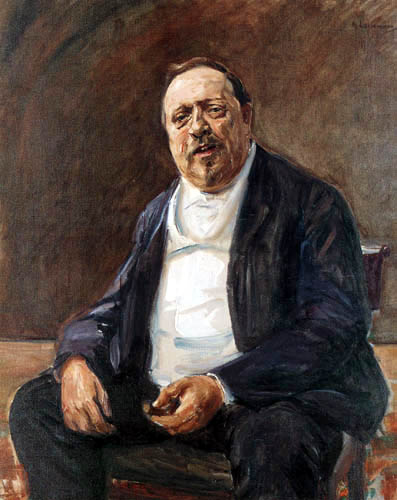 Max Liebermann - Portrait of Alfred Baron of Berger I