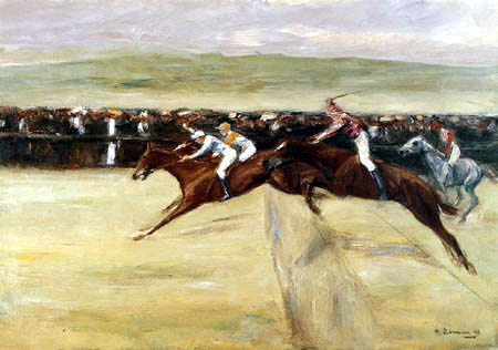 Max Liebermann - Horse racing of Cascinen I
