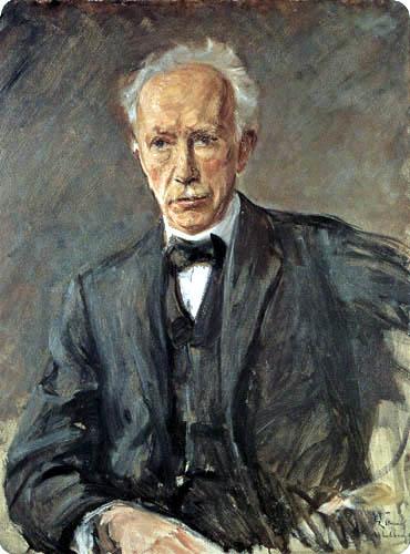 Max Liebermann - Bildnis des Komponisten Richard Strauss