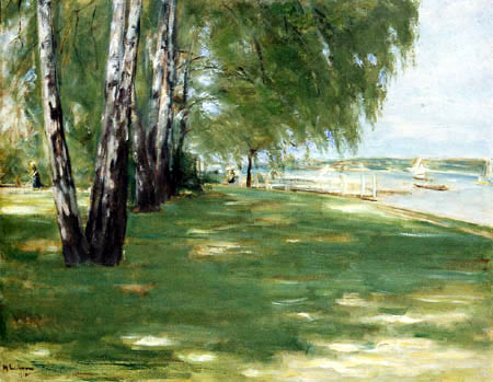 Max Liebermann - The garden of the painter