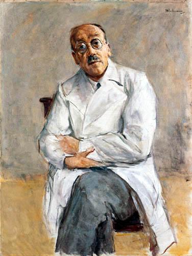 Max Liebermann - Bildnis des Chirurgen Prof. Ferdinand Sauerbruch