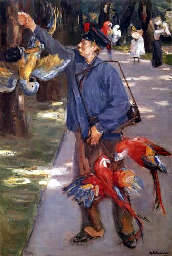 Max Liebermann - Der Papageienmann