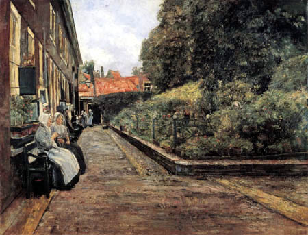 Max Liebermann - Stevenstift in Leiden