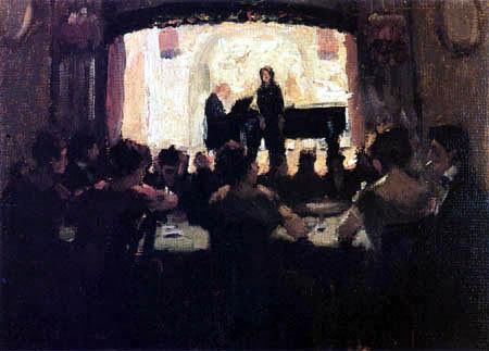 Max Liebermann - Café