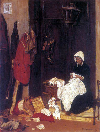 Max Liebermann - Dress maker