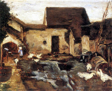 Max Liebermann - Farm near Barbizon