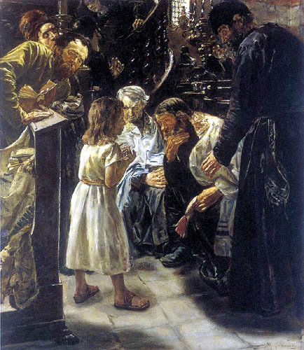 Max Liebermann - Jesus in the temple at age twelve