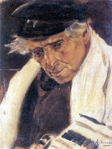 Max Liebermann - Portrait of a Jew