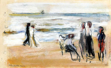 Max Liebermann - Beach near Nordwijk