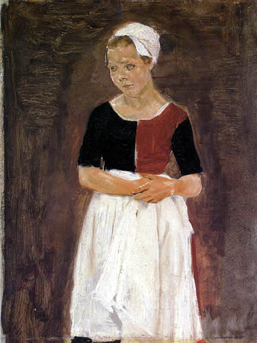 Max Liebermann - Orphan girl