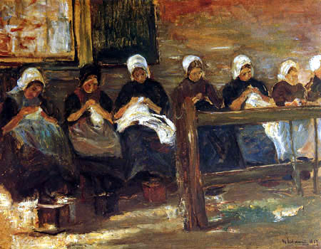 Max Liebermann - Dutch dress makers