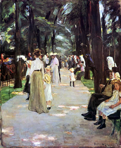 Max Liebermann - The Parrot Avenue