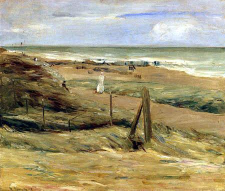Max Liebermann - Promenade in dunes