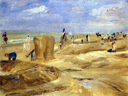 Max Liebermann - Strand bei Nordwijk