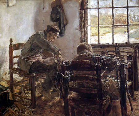 Max Liebermann - Shoemaker