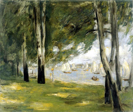 Max Liebermann - Birches at the Wannsee