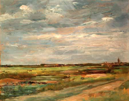 Max Liebermann - Dünenlandschaft bei Noordwijk