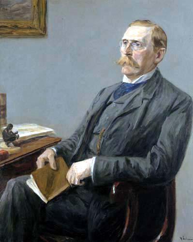 Max Liebermann - Portrait Dr. Wilhelm Bode