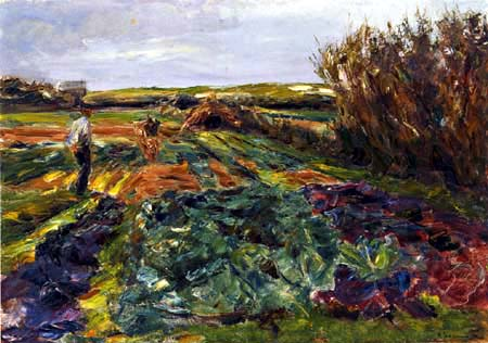 Max Liebermann - The coal field
