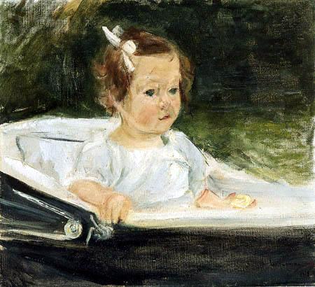 Max Liebermann - Die Enkelin im Kinderwagen