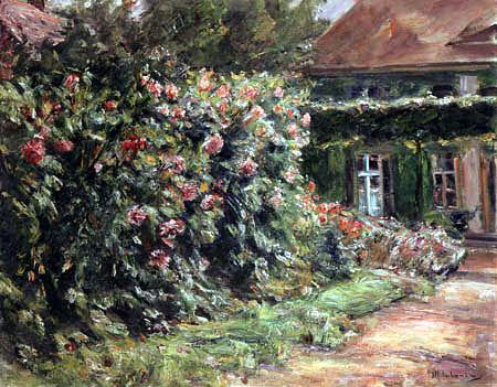 Max Liebermann - Mein Haus in Wannsee mit Garten
