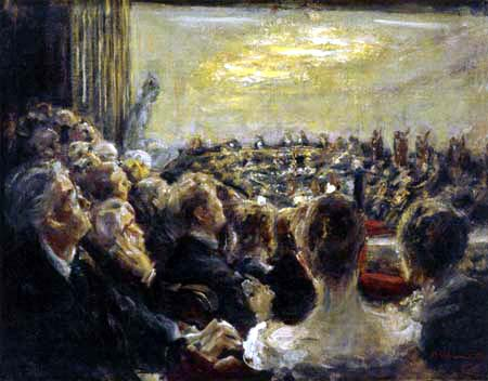 Max Liebermann - Concert at the Opera