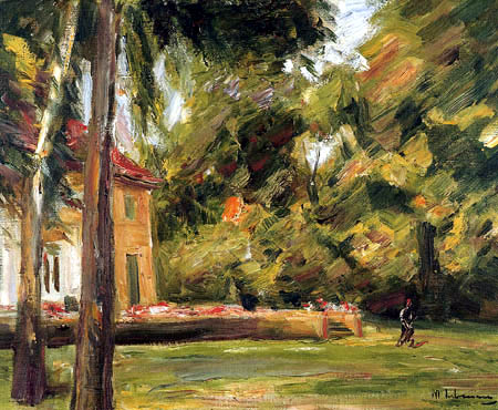 Max Liebermann - View from the Birch Avenue to the northwest