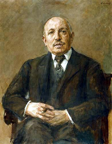 Max Liebermann - Portrait of Samuel Fischer