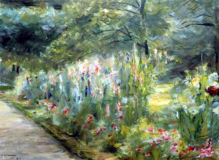Max Liebermann - The vegetable garden in Wannsee