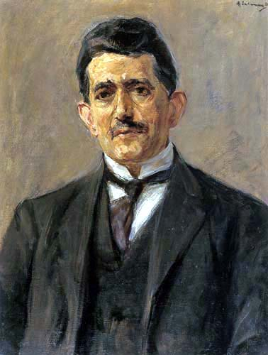 Max Liebermann - Portrait Bruno Cassirer