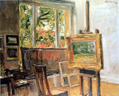 Max Liebermann - The studio in Wannsee