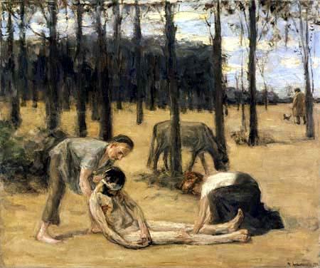 Max Liebermann - Der barmherzige Samariter
