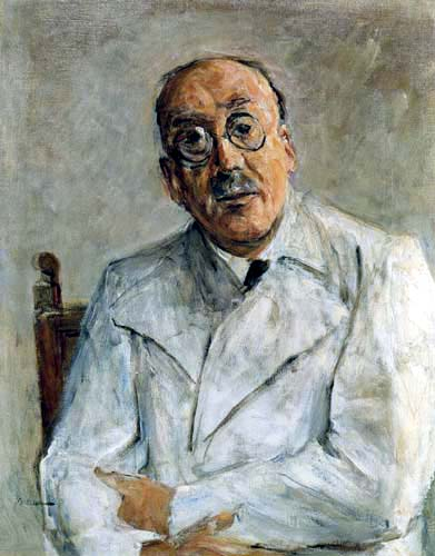 Max Liebermann - The surgeon Prof. Ferdinand Sauerbruch
