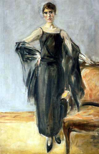 Max Liebermann - Portrait of Genia Levine