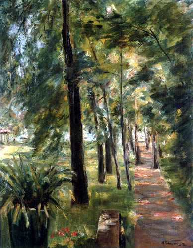 Max Liebermann - The Birch Avenue, Wannsee