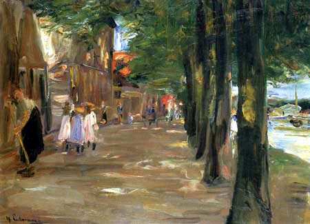Max Liebermann - Canal in Delft