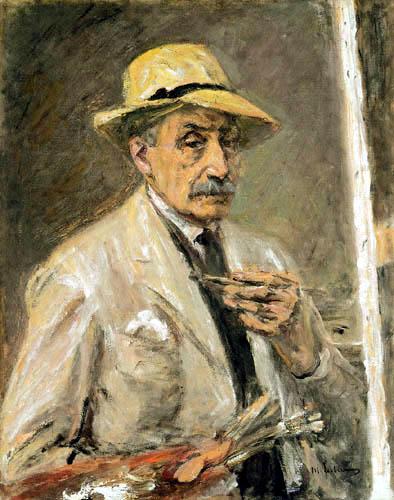 Max Liebermann - Self-portrait
