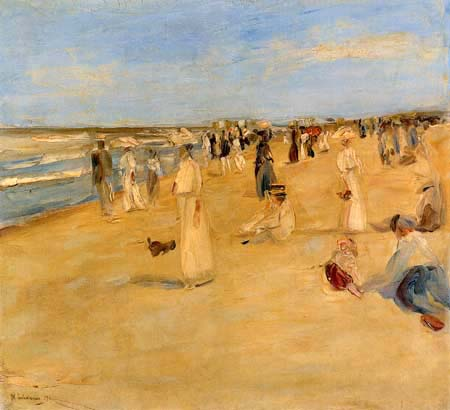Max Liebermann - Beach in Noordwijk