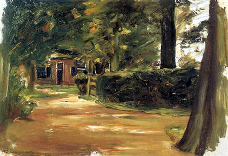 Max Liebermann - Old people's home, Laren
