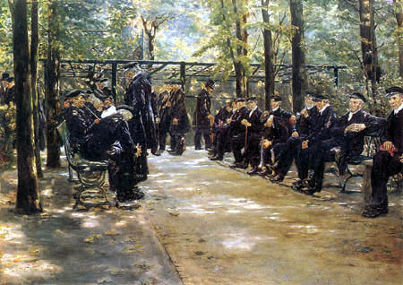 Max Liebermann - Old people's home, Amsterdam