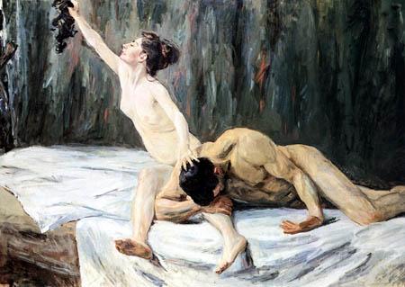 Max Liebermann - Simson und Delila