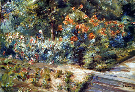 Max Liebermann - Flowering garden