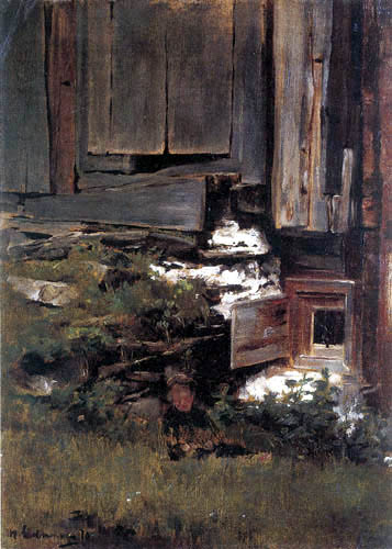 Max Liebermann - Old house