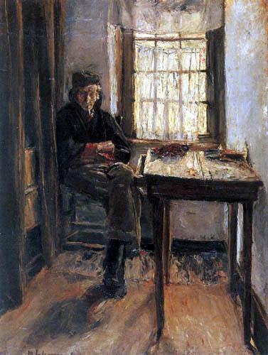 Max Liebermann - Der alte Lotse