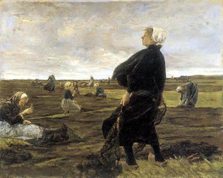 Max Liebermann - Mending the Nets