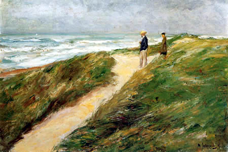 Max Liebermann - Paysage dunaire