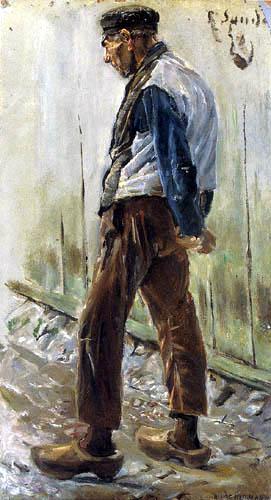 Max Liebermann - Dutch farmer