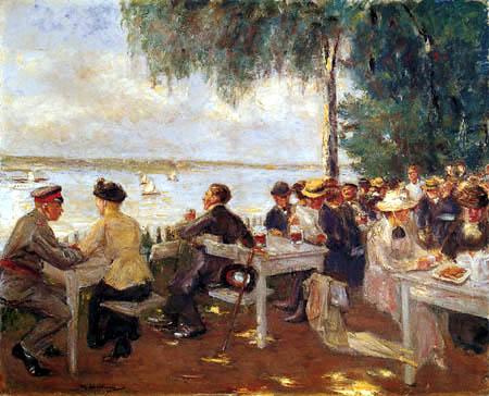 Max Liebermann - Café in Nikolskoe