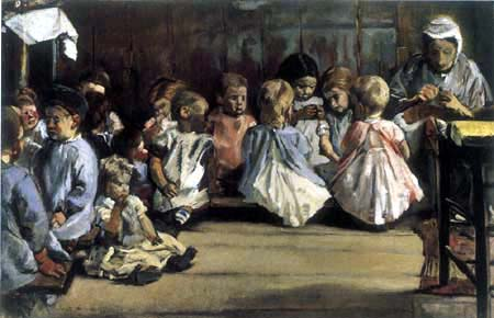 Max Liebermann - Nursery school